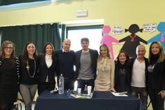 """Gli studenti della """"Fieramosca"""" di Barletta incontrano l'arbitro Antonio Damato"""