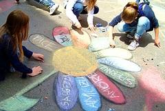 Barletta si colora coi disegni dei Giò Madonnari