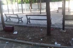 Pulizia nei giardini di via Izzi a Barletta, presto anche in villa Bonelli