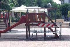 In arrivo giochi nuovi e più sicuri in Piazza Federico di Svevia