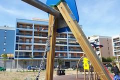 Via degli Ulivi, atti di vandalismo al parco giochi