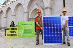 Greenpeace accende il fotovoltaico all'ombra di Eraclio