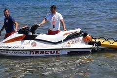 118 Asl BT, soccorso in acqua anche sulla costa di Barletta