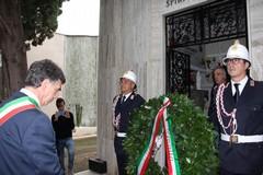 Commemorazione dei defunti, la cerimonia presso il cimitero di Barletta