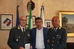 I saluti del sindaco al nuovo Comandante della Guardia di Finanza di Barletta