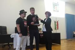 Il rapper Marco Baruffaldi al Liceo Scientifico di Barletta