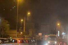 Via Foggia congestionata dal traffico