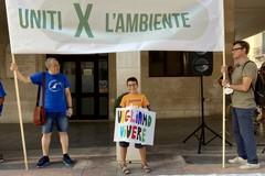 Sit-in per il biomonitoraggio a Barletta