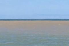 Chiazza scura nel mare di Barletta nei pressi della Fiumara