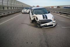 Violento tamponamento sulla 16 bis a Barletta, 3 feriti