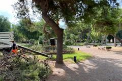 Conseguenze del maltempo, chiusi i giardini del castello di Barletta