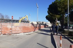 Abbattuto tutto il muro di cinta dello stadio Puttilli