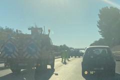 Incidente tra Barletta e Trani sulla SS16bis, traffico rallentato in direzione Bari