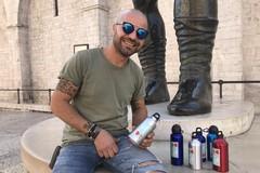 200 borracce per i reparti oncologici, l'iniziativa del subacqueo Antonio Binetti di Barletta