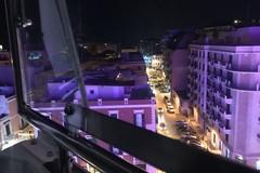 Barletta dall'alto, il panorama della ruota di piazza Aldo Moro