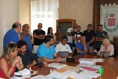 Protestano i residenti bloccati dal cantiere di via Andria