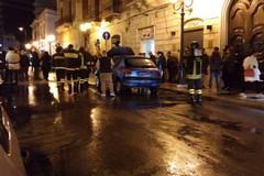 Incendio in corso Garibaldi, prende fuoco un'automobile