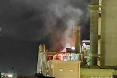 «Nessuna conseguenza ambientale né per la salute» dopo l'incendio di questa notte a Barletta