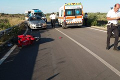 Grave incidente a Barletta sulla SS170, feriti due ragazzi andriesi