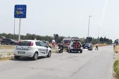 Incidente in Vespa, un 60enne barlettano ricoverato dopo lo scontro con un'auto