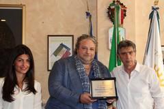 Il sindaco incontra Giuseppe Pierro Ambasciatore di pace nel mondo