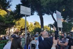 Il parco di via Dante Alighieri intitolato all'ex sindaco Dicuonzo