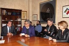 """Cascella incontra una delegazione del """"Barletta 1922"""""""
