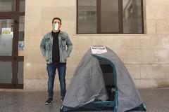 Angelo torna a casa, «la tenda è stata il centro operativo della nostra lotta»