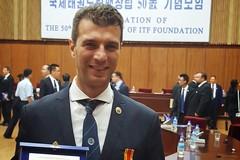 Taekwondo, premiato in Corea il barlettano Ruggiero Lanotte