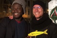 """""""La Bat non si Lega"""" e la piazza non si riempie: le Sardine a Barletta"""