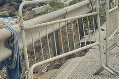 """Strada dissestata a Levante, """"si sta aspettando la tragedia"""""""