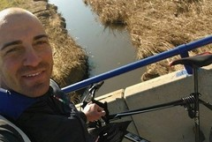 Andrea Ludovici, «La mia sfida su due ruote dalla Puglia all'Andalusia»