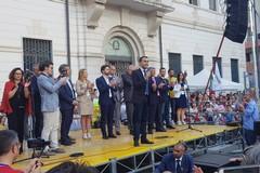 La promessa di Luigi Di Maio a Barletta: «Taglio ai vitalizi»