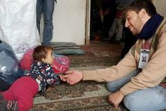 Michele, volontario barlettano nei luoghi di guerra dal silenzio assordante