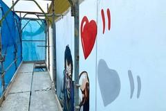 A Barletta un murale per Pietro Mennea: l'opera viene alla luce