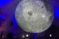 """Museum of the Moon"", da oggi a domenica visite fino alle ore 21"