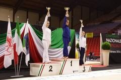 Nadia Vicariucci è vicecampionessa italiana di specialità alla palla