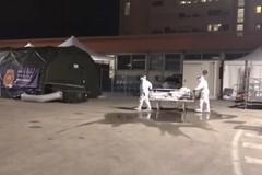 Attivato l'ospedale da campo di Barletta