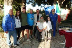 L'ex alpino 85enne Belliére attraversa l'Italia, tappa a Canne della Battaglia