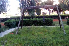 Parco giochi di via Rionero, come in un film horror