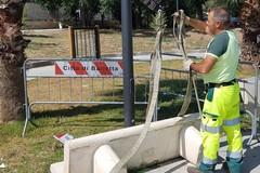 """Parco """"Pietro Mennea"""", panchina vandalizzata dopo solo 24 ore"""