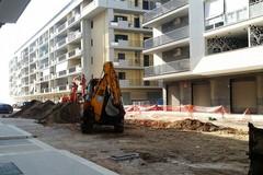 Partiti i lavori di risistemazione in zona Parco degli Ulivi