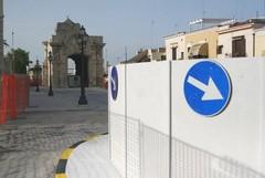 Ripresi i lavori in piazza Marina dopo la sospensione estiva