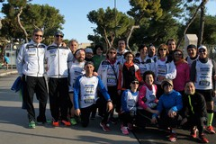 La partenza della Pietro Mennea Half Marathon 2017