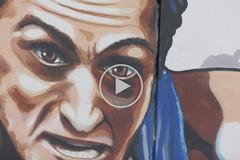 Barletta omaggia Pietro Mennea, il murale del campione è realtà