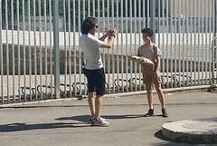 Un bambino di nome Pietro Mennea diventa freccia del sud in via Chieffi
