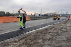 Viabilità e cantieri a Barletta, «entro pochi giorni la fine dei lavori per il nuovo asfalto sulla SS16bis»