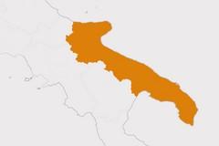La Puglia resta in zona arancione: indice Rt ancora superiore a 1