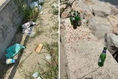 """Barletta, zona """"nera"""" per i rifiuti abbandonati sulla litoranea"""