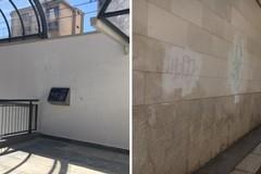 Ignoti ripuliscono il sottopasso di via Milano, coperte anche le scritte in via Napoli